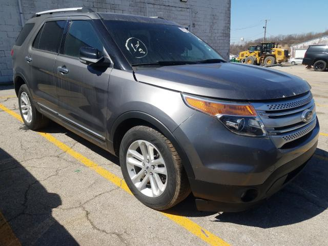 Vehiculos salvage en venta de Copart Chicago Heights, IL: 2013 Ford Explorer X