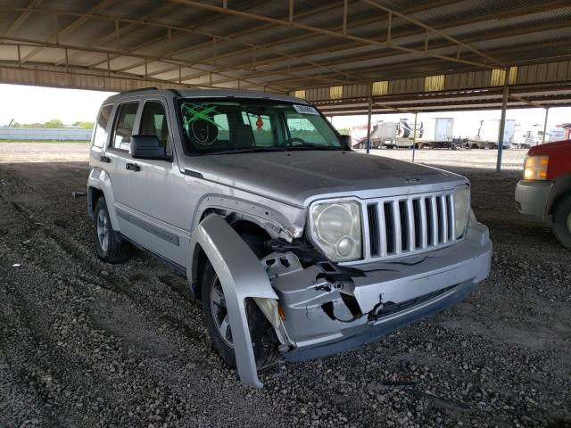 Salvage cars for sale from Copart Houston, TX: 2008 Jeep Liberty SP