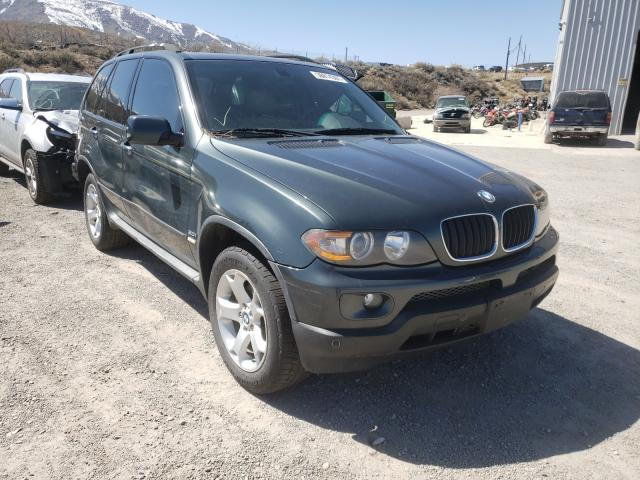 Salvage cars for sale from Copart Reno, NV: 2005 BMW X5 3.0I