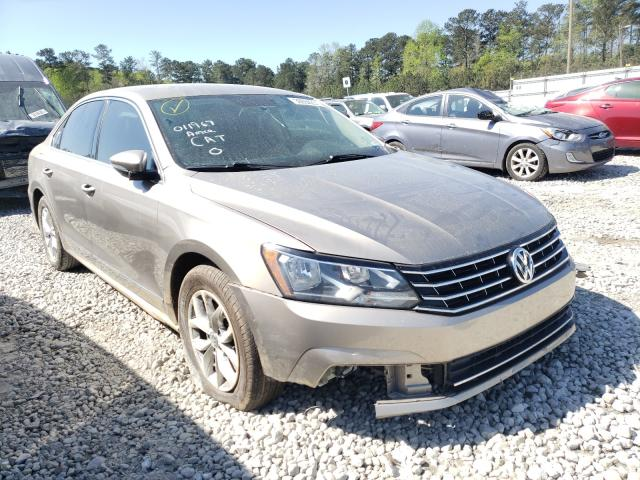 Salvage cars for sale from Copart Ellenwood, GA: 2016 Volkswagen Passat S