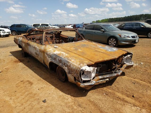 Oldsmobile salvage cars for sale: 1972 Oldsmobile Delta 88