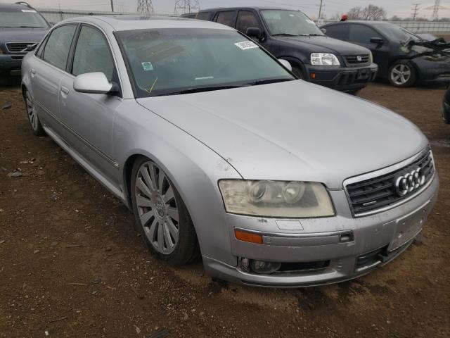 Salvage cars for sale from Copart Elgin, IL: 2004 Audi A8 L Quattro