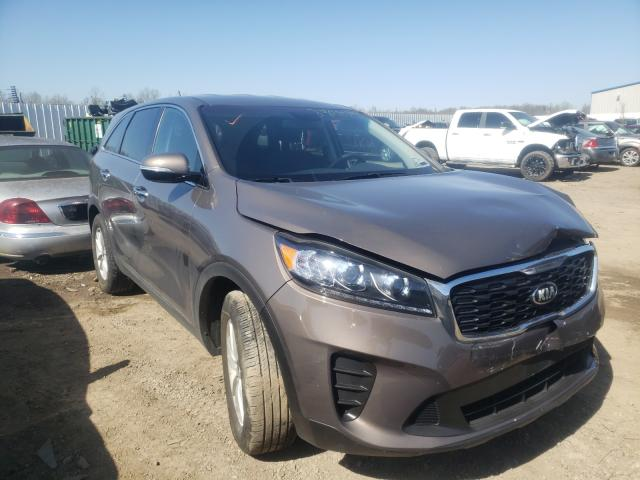 KIA Sorento S salvage cars for sale: 2020 KIA Sorento S
