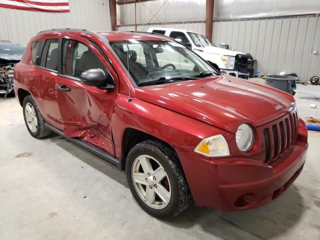 Salvage 2008 JEEP COMPASS - Small image. Lot 39070681