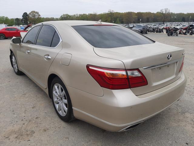 2011 LEXUS LS 460 JTHBL5EFXB5101724