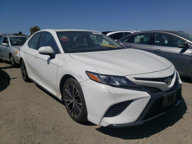 Salvage cars for sale from Copart Martinez, CA: 2018 Toyota Camry L