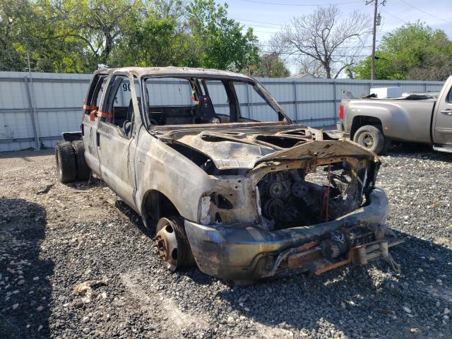 Salvage cars for sale from Copart Corpus Christi, TX: 2002 Ford F350 Super