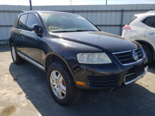 Salvage cars for sale from Copart Martinez, CA: 2004 Volkswagen Touareg 4