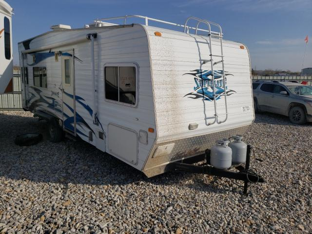 Salvage cars for sale from Copart Kansas City, KS: 2019 Flagstaff Travel Trailer