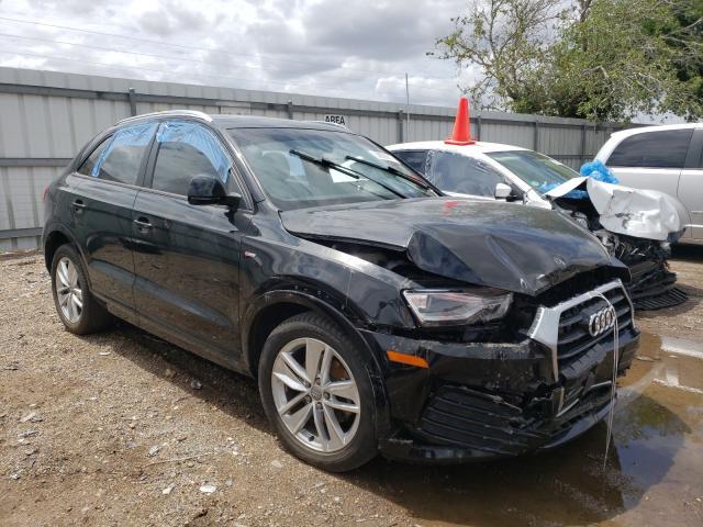 Salvage cars for sale from Copart Mercedes, TX: 2018 Audi Q3 Premium