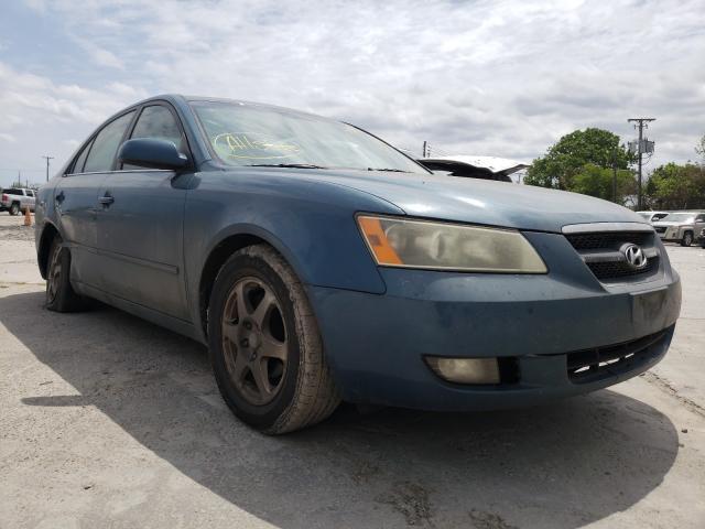 Salvage cars for sale from Copart Corpus Christi, TX: 2006 Hyundai Sonata GLS