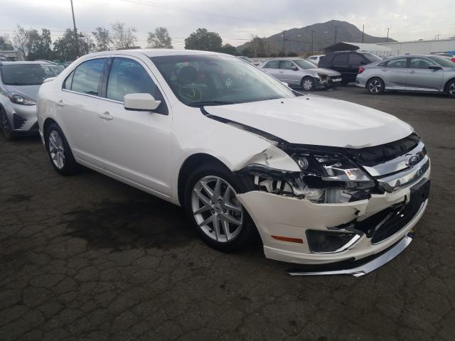 Salvage cars for sale from Copart Colton, CA: 2011 Ford Fusion SEL