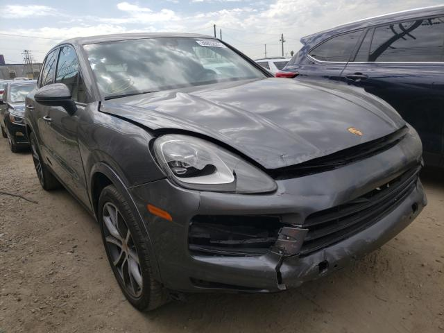 Porsche salvage cars for sale: 2019 Porsche Cayenne S