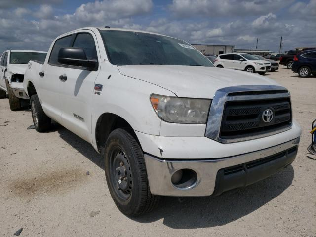 Salvage cars for sale from Copart San Antonio, TX: 2012 Toyota Tundra CRE