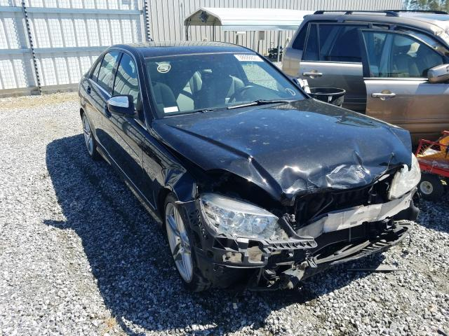 Salvage cars for sale from Copart Spartanburg, SC: 2008 Mercedes-Benz C 350