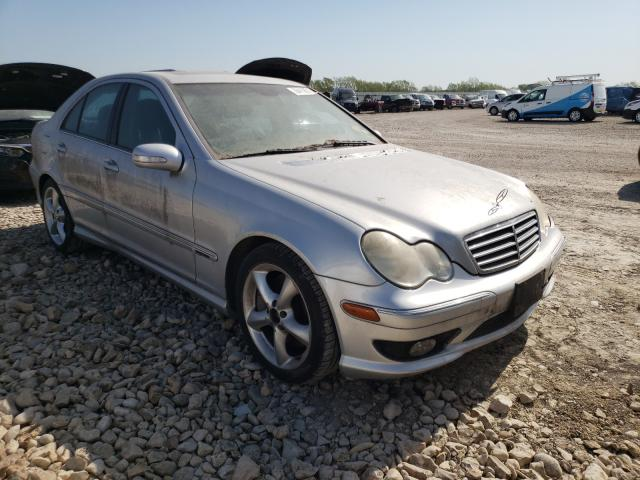 Salvage cars for sale from Copart Temple, TX: 2006 Mercedes-Benz C 230