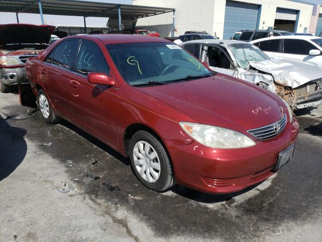 Salvage cars for sale from Copart Anthony, TX: 2005 Toyota Camry LE