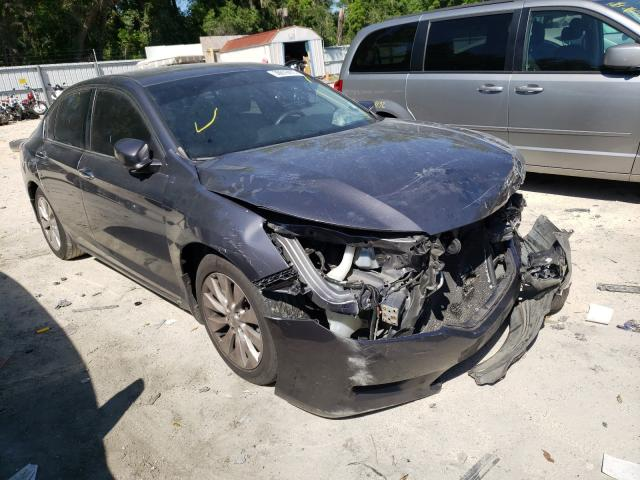 Salvage cars for sale from Copart Ocala, FL: 2015 Honda Accord EX