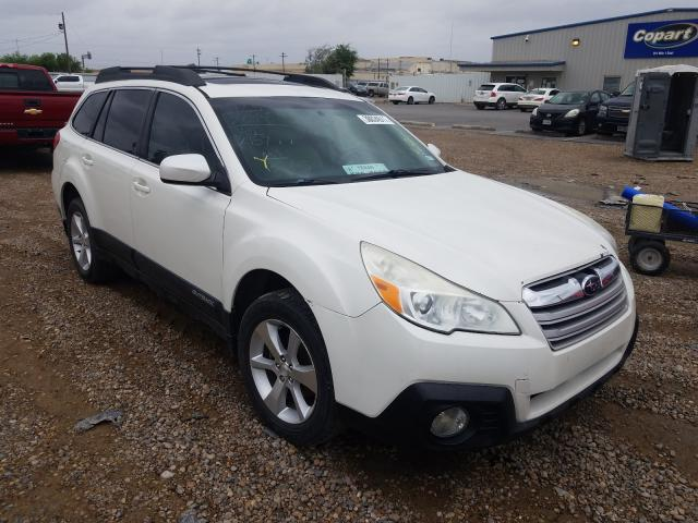 Salvage cars for sale from Copart Mercedes, TX: 2014 Subaru Outback 2