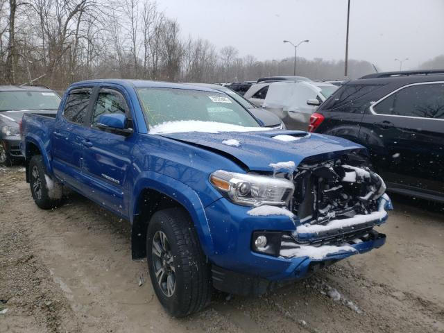 Salvage cars for sale from Copart Northfield, OH: 2017 Toyota Tacoma DOU