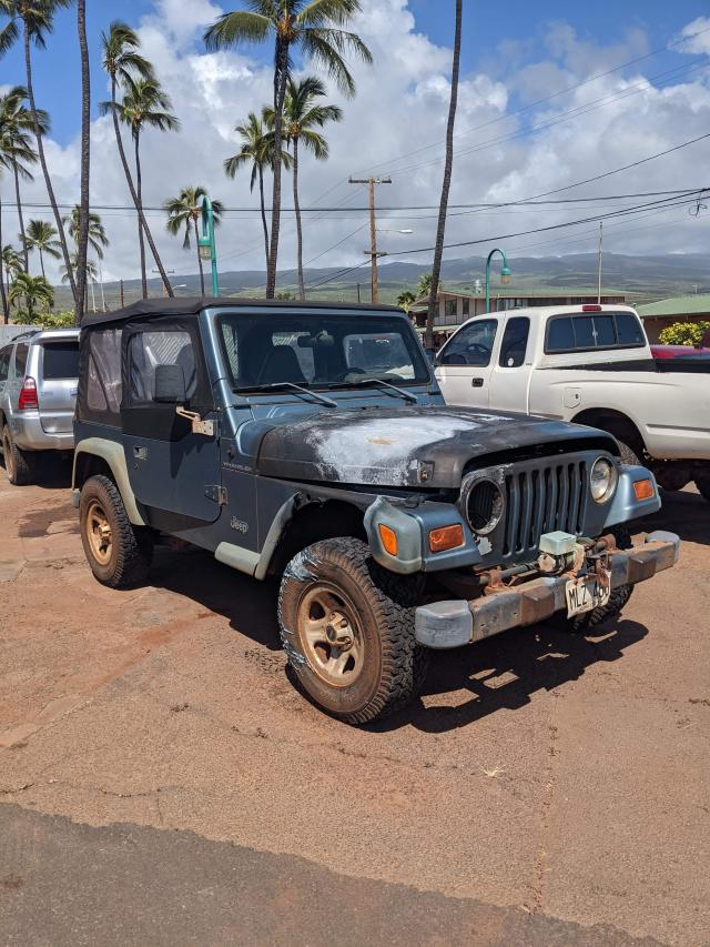 Salvage cars for sale from Copart Kapolei, HI: 1998 Jeep Wrangler