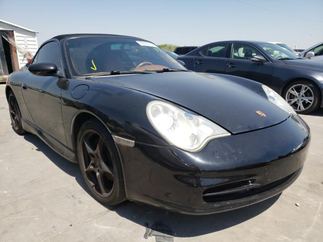 Porsche salvage cars for sale: 2002 Porsche 911 Carrer