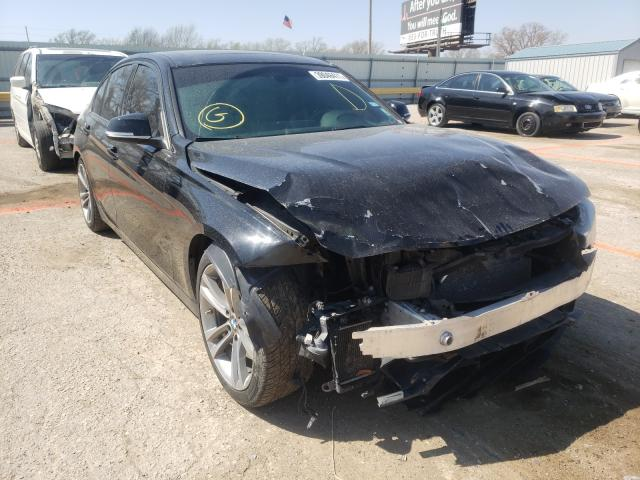 Salvage cars for sale from Copart Wichita, KS: 2015 BMW 328 I