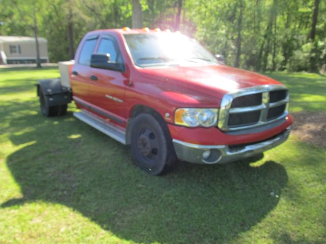 Salvage cars for sale from Copart Greenwell Springs, LA: 2004 Dodge RAM 3500 S