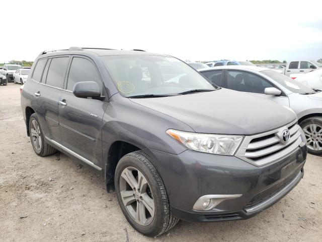 Salvage cars for sale from Copart Temple, TX: 2013 Toyota Highlander