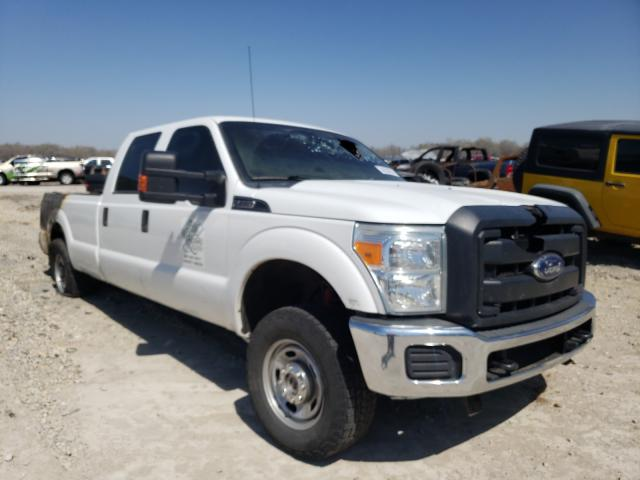 Salvage cars for sale from Copart Wichita, KS: 2015 Ford F250 Super
