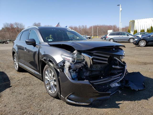 Salvage cars for sale from Copart East Granby, CT: 2017 Mazda CX-9 Signa