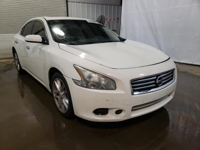 Salvage cars for sale at Central Square, NY auction: 2013 Nissan Maxima S