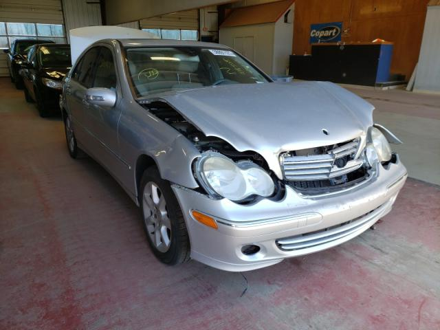 Salvage cars for sale from Copart Angola, NY: 2007 Mercedes-Benz C 280 4matic