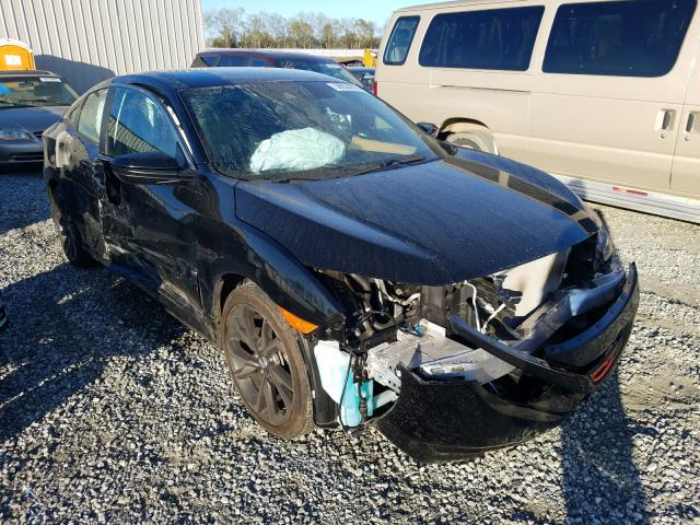 Salvage cars for sale from Copart Spartanburg, SC: 2019 Honda Civic Sport