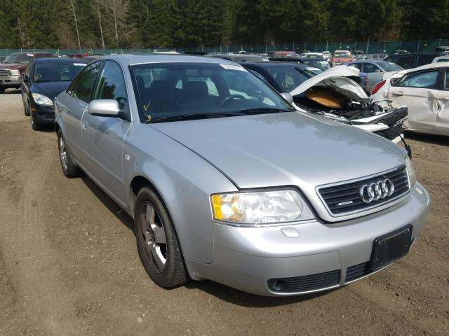 Salvage cars for sale from Copart Graham, WA: 2000 Audi A6 2.7T Quattro