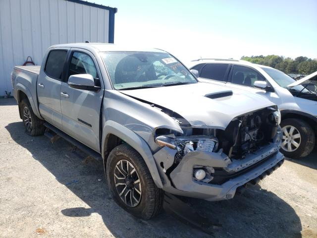 Salvage cars for sale from Copart Shreveport, LA: 2020 Toyota Tacoma DOU