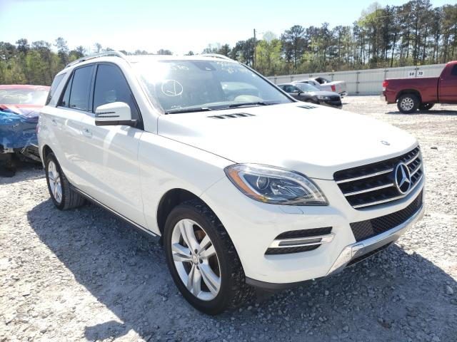 Salvage cars for sale from Copart Ellenwood, GA: 2013 Mercedes-Benz ML 350 4matic