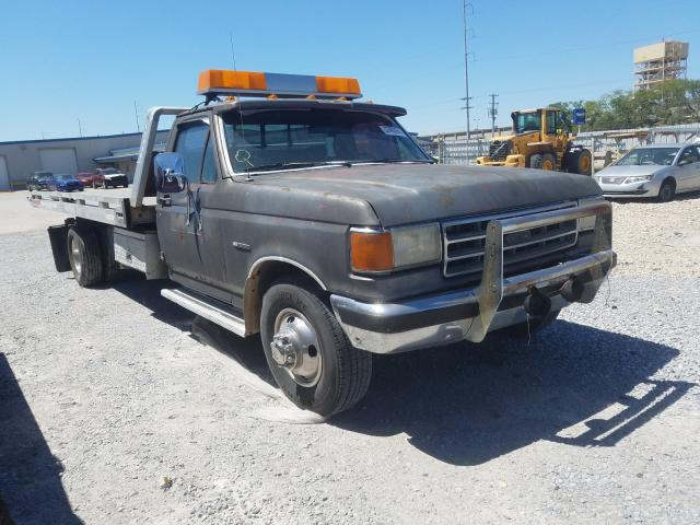 Ford F350 salvage cars for sale: 1989 Ford F350