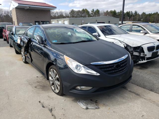 Salvage cars for sale from Copart Exeter, RI: 2014 Hyundai Sonata SE