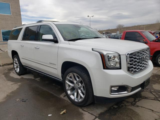Salvage cars for sale from Copart Littleton, CO: 2020 GMC Yukon XL D