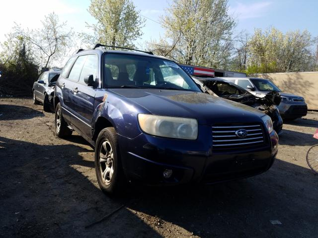 Salvage cars for sale from Copart Baltimore, MD: 2006 Subaru Forester 2