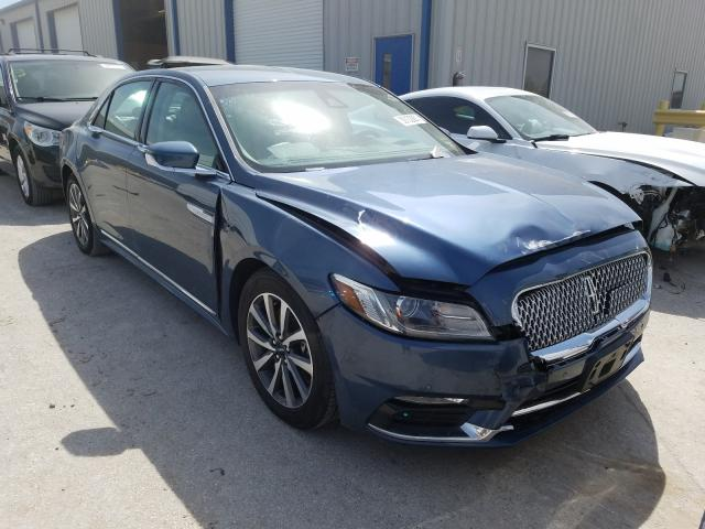 Lincoln salvage cars for sale: 2019 Lincoln Continental