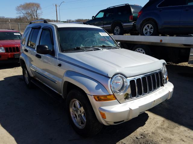 Salvage cars for sale from Copart Madison, WI: 2005 Jeep Liberty LI