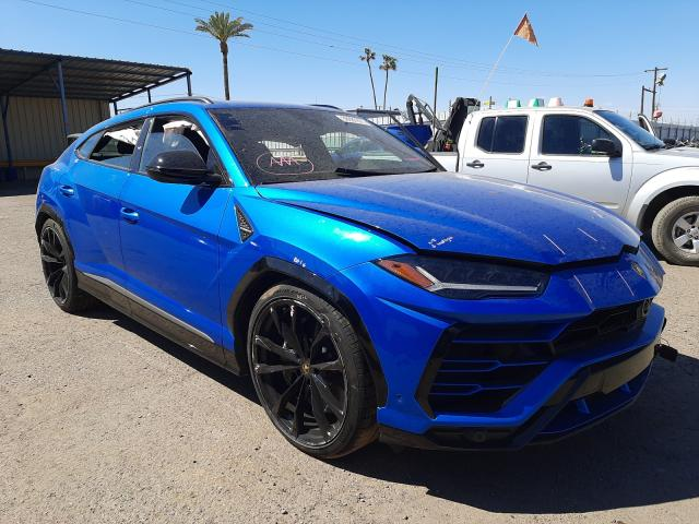 Lamborghini salvage cars for sale: 2020 Lamborghini Urus