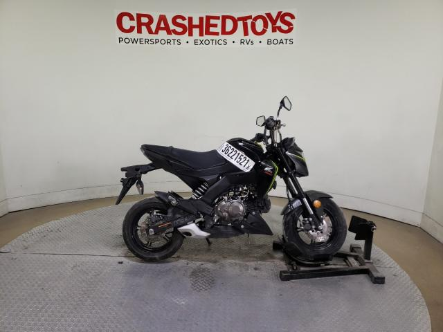 Salvage cars for sale from Copart Dallas, TX: 2018 Kawasaki BR125 J