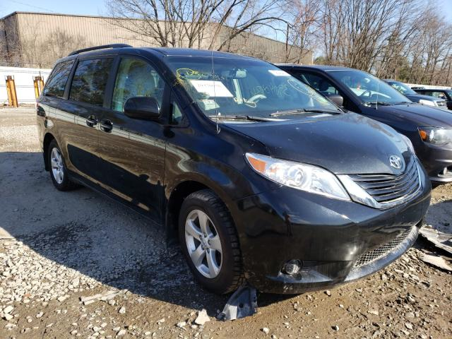 Salvage cars for sale from Copart North Billerica, MA: 2014 Toyota Sienna LE