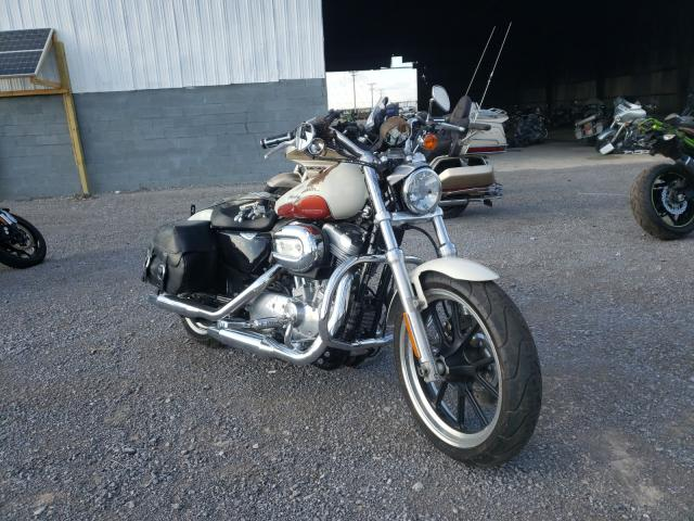 Harley-Davidson XL883 L salvage cars for sale: 2011 Harley-Davidson XL883 L