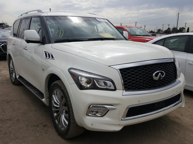 Infiniti salvage cars for sale: 2016 Infiniti QX80