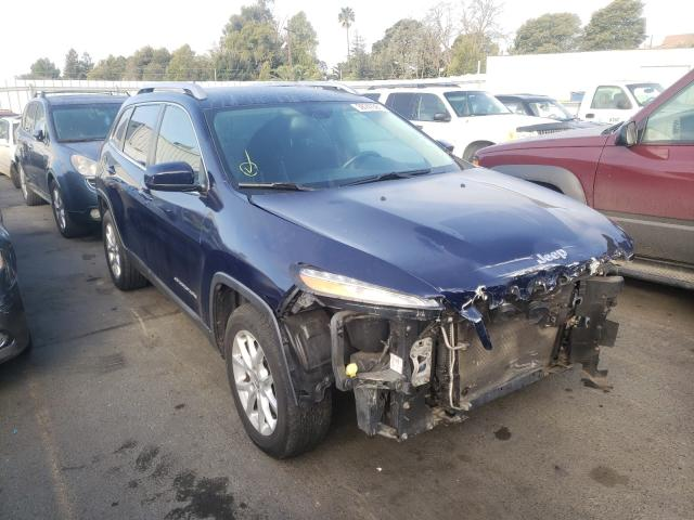 Salvage cars for sale from Copart Vallejo, CA: 2015 Jeep Cherokee L