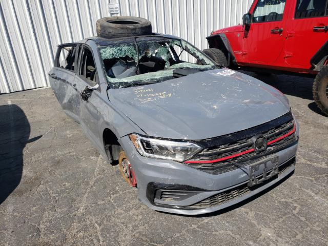 Salvage cars for sale from Copart Colton, CA: 2019 Volkswagen Jetta